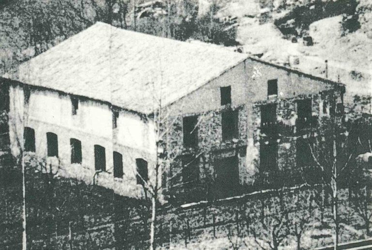 The factories of Villarluengo